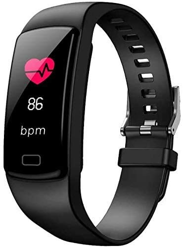ZHENAO Fitness Tracker Pulsera Inteligente Pantalla de Color Presión Arterial Monitoreo de Ritmo Cardíaco Bluetooth Pulseras Varios Diales de Moda Pulsera Deportiva Pulsera Deportiv