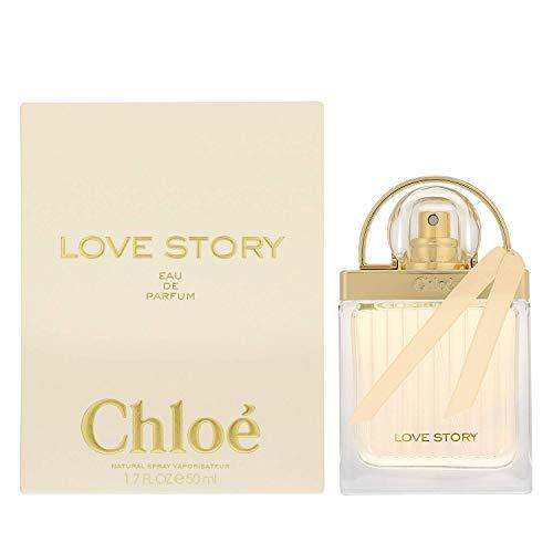 Chloe Love Story Femme/woman, Eau de Parfum, verstuiver/spray, per stuk verpakt (1 x 50 ml)