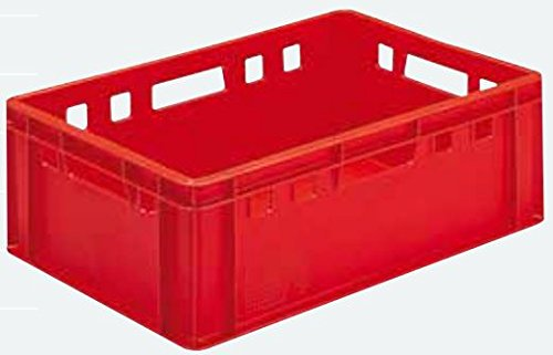 Euro - Fleisch - Kiste E1 / E2 / (E2 rot (40x60x20cm))