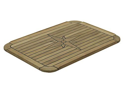 Talamex Teak Tischplatte 51x75 für Klapptisch
