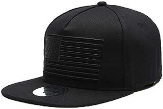 American Flag Snapback Hats,Unisex Adjustable Trucker Hat Hip Hop Flat Brim Cap