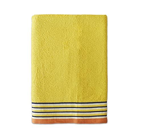 Exotic Cotton Toalla de Ducha de 70 cm x 140 cm - Toalla de Baño Algodón 100% de Rizo Americano -...