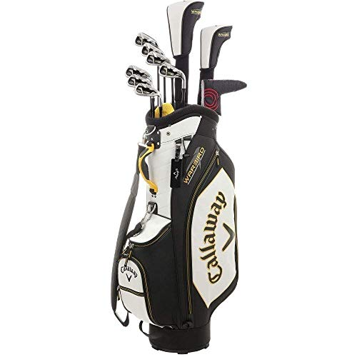 Juego de palos de golf Callaway Warbird Men's RH, incluye:bolsa de golf completa