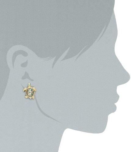 Betsey Johnson Turtle Stud Earrings