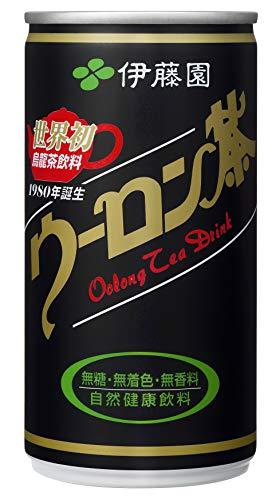 伊藤園 ウーロン茶 缶 190g×30本