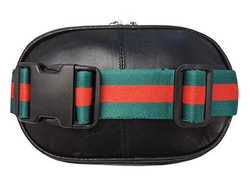 Roamlite - RL167GU - Marsupio rimovibile in vera pelle, utilizzabile anche come borsa a tracolla, fino a 127 cm di girovita