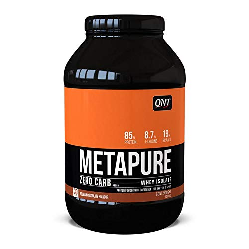 QNT Metapure Whey Protein Isolate Belgian Chocolate 908g