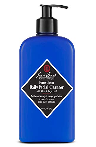 Jack Black Pure Clean Daily Facial Cleanser,16 Fl Oz