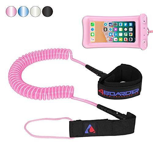 4boarder® LEASHy (pink, 11 FT - 7mm)
