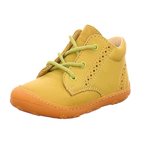 RICOSTA Kinder Stiefel Kelly von Pepino, Weite: Mittel (WMS), Boots schnürstiefel Leder Kids junior Kleinkinder Kinder-Schuhe,pink,19 EU / 3 Child UK