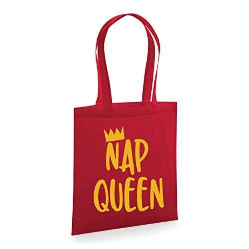 Bolsa de compras Nap Queen Sleepy para escuela, universidad, divertido regalo