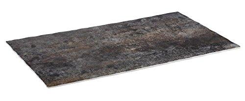 APS GN 1/1 dienblad -ROCKFACE van melamine, 53 x 32,5 cm, hoogte 1,5 cm, steen-look met anti-slip voetjes