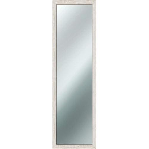 Lupia Miroir Mural Mirror Shabby Chic 40x 125cm Couleur Ivoire