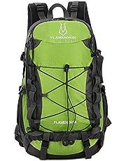 TOMSHOO - Zaino impermeabile da 40 l, per attività all'aria aperta, campeggio, arrampicata, ciclismo, viaggi, zaino da viaggio, borsa per uomini e donne