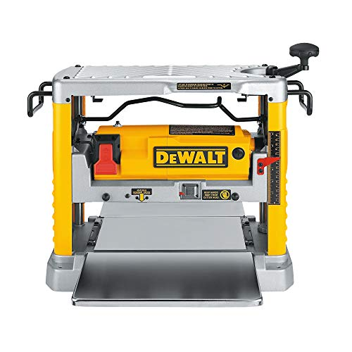 DEWALT Benchtop Planer, Single Speed, 15-Amp,...