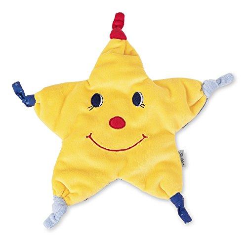 Sterntaler Schmusetuch Stern, Alter: Für Babys ab dem 1. Monat, Größe: 33 cm, Farbe: Gelb