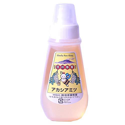 国産アカシアはちみつ ポリ容器入り 500g×1本 荻原養蜂園 香りやさしく、さっぱりとした味が人気の蜂蜜