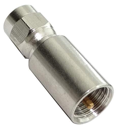AERZETIX - Connettore adattatore RF coassiale - FME - SMA - Spina maschio 2 lati - 50Ω - C43759