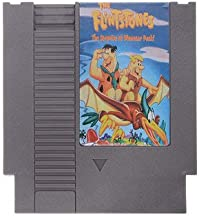 Video Game Card - Video Game Cartridge - The Flintstones 2 - The Surprise at Dinosaur Peak 72 Pin 8 Bit Game Card Cartridge for NES (8 Bit Card Game)
