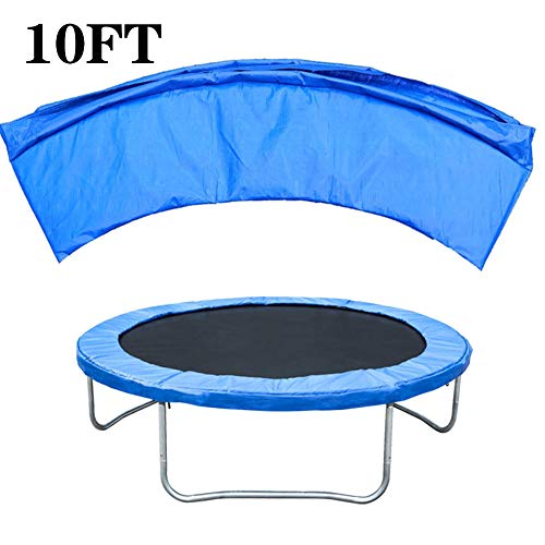 ZWFPJQD PVC Trampoline Replacement Safety Pad Spring Cover Jumping Mat Safety High Elastic For Sport Trampoline Parts Replacement Accessories,10FT