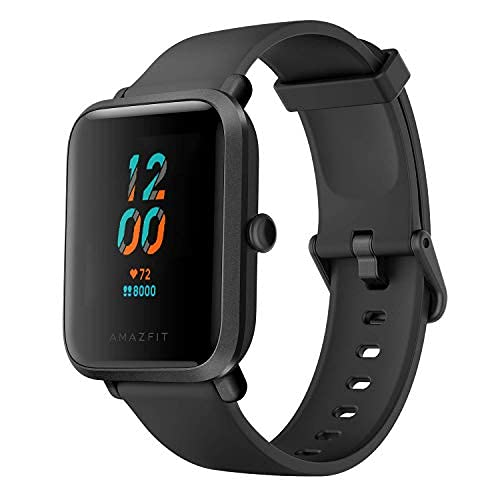 Amazfit Bip S Smartwatch Orologio Fitness Tracker, Display Always-on, Durata Batteria 40 Giorni, GPS integrato, 17 Modalita di Allenamento Impermeabil 5 ATM, Montoraggio della Frequenza Cardiaca