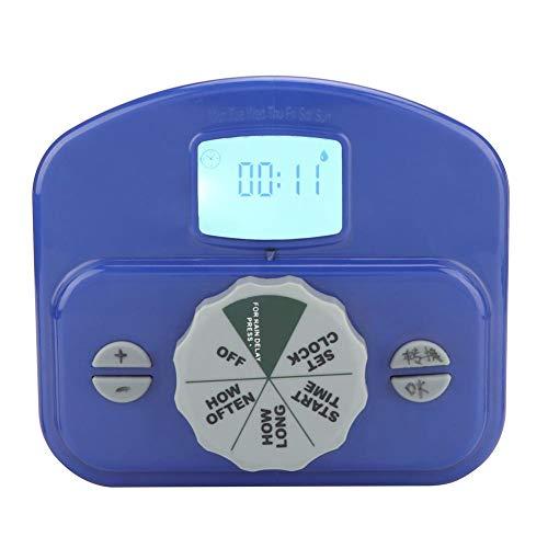 Asixx Garten-Wasser-Timer, Hausgarten-automatisches elektronisches Bewässerungs-Timer-Bewässerungs-Zeit-Prüfer-System