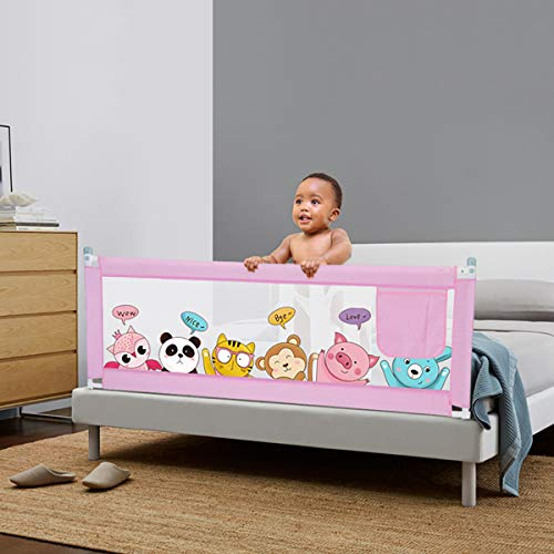 TANGBC Valla de bebé para elevación vertical, eleva la pared de protección contra caídas para proteger la tabla de seguridad del bebé (1,5/1,8/2 m) de seguridad importante 180 x 80 cm