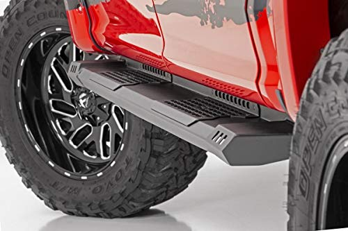 Rough Country HD2 Running Boards (fits) 1999-2016 Super Duty F250 F350 Crew Cab | Truck Side Steps | SRB991691