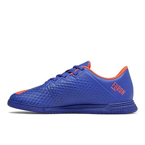 New Balance Kid's Furon Dispatch Indoor V6 Soccer Shoe, Cobalt, 5 M US Big Kid