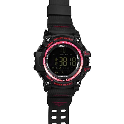 SmartWatch JRC EX16 1.12 pulgadas FSTN LCD Pantalla de ángulo completo Pantalla Sport Watch, IP67 50M Professional impermeable, soporte, podómetro / cronómetro / alarma / notificación de notificación