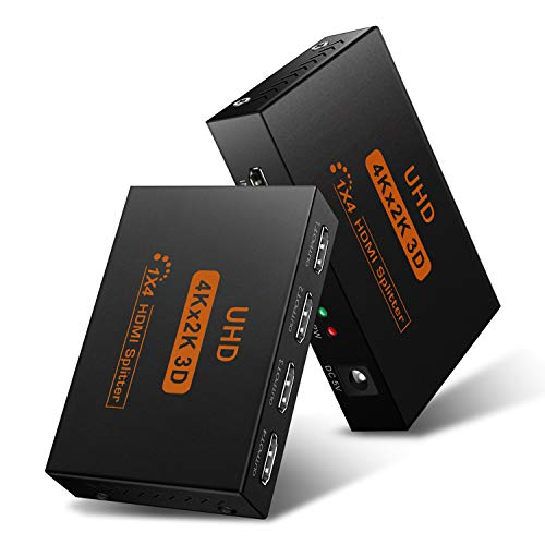 Why Should You Buy Hdmi Splitter 1 in 4 Out by DDIDA, Powered Full Ultra HD 1080P V1.4 HDMI Display,...