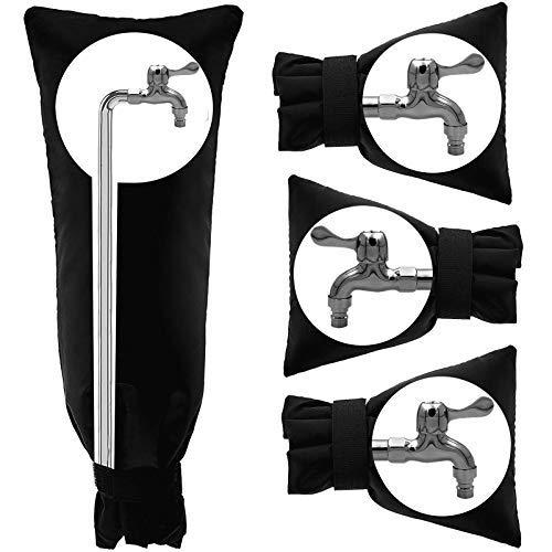 Outdoor-Wasserhahn-Abdeckung für den Winter, Rohrisolierung, Frostschutz, 2 Größen, wasserdicht, Gartenwasserhahn-Socken