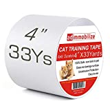 adimmobilize Anti-Scratch Cat Training Tape, 4-Inch x 33 Yards, Furniture Scratch Protector Tape for Door, Fabric Couch and Leather