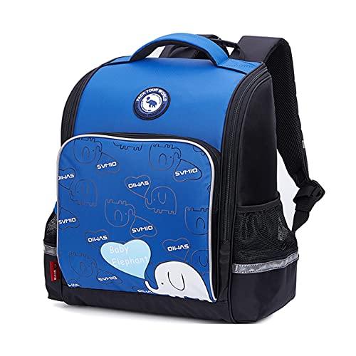 yuanyuanliu Bambino for Bambini Studente Student Campus Light Zaino Zaino Panciatura (Color : Blue, Size : L-27 * 15 * 38cm)