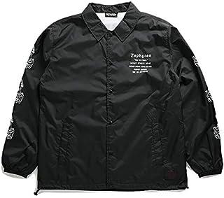 [ゼファレン] Z18AA11 コーチジャケット 黒