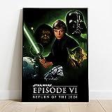 WYMADAL Puzzle De 1000 Piezas para Adultos Infantiles Star Wars Rise of Skywalker Película Last Jedi Art Marvel Imagen Rompecabezas De Madera,Educación Juguete,De Juegos Familiares Regalo A-1219-E