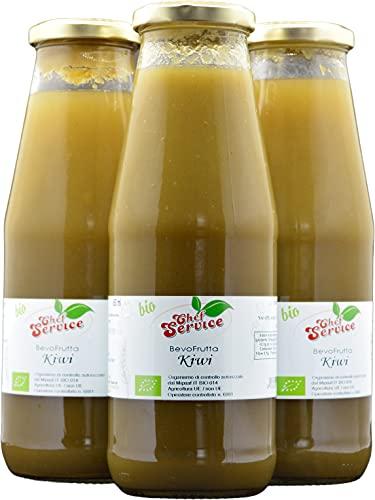 Bevofrutta kiwi BIO 700ml , prodotto da frutta fresca, ricetta artigianale di Chef Service| OFFERTA 3 pezzi da 700 ml