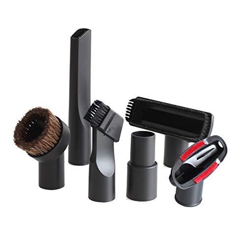 ZRNG 6PCS Universal-Vakuum-Saugdüse Bürstenkopf gepasst for 32mm und 35mm Staubsauger-Teile Zubehör Fugendüse for Bett Sofa Die Installation ist einfach und benutzerfreundlic