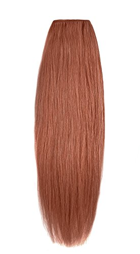 American Dream original de qualité 100% cheveux humains 40,6 cm soyeuse droite trame Couleur 130 – Cuivre Rouille