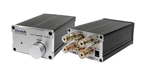 Trends TA-10.2 Mini Class-T Stereo Amplifier (Europe/French 2-round-legs/1hole plug)