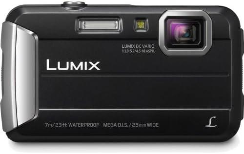 Panasonic DMC-TS25D Waterproof Digital Camera with 2.7-Inch LCD (Orange)