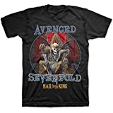 Avenged Sevenfold Men's Deadly Rule T-Shirt Small Black