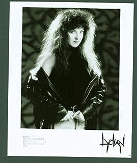 Lydian rare press photo Hair Metal Women Rock Pantera