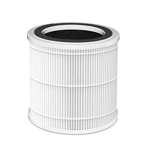 Ausanat Air Purifier Filter, True HEPA with Activated Carbon Replacement Filter for AN-A10-04 (White)