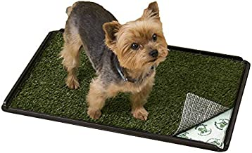 PoochPads Indoor Turf Dog Potty Plus, for Dogs up to 20 lbs., 24