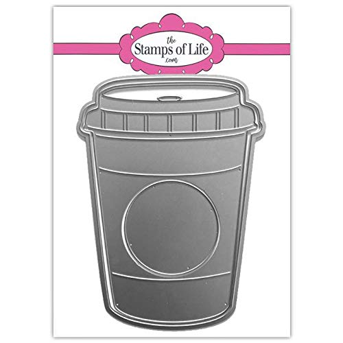 Coffee Cup Fold-it Die Set for Card-Making and Scrapbooking by The Stamps of Life