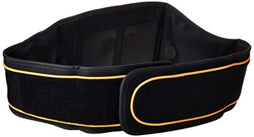 Beurer EM-35 - Cinturón electro estimulador para zona abdominal, 5 programas de entrenamiento intensidad ajustable, color negro