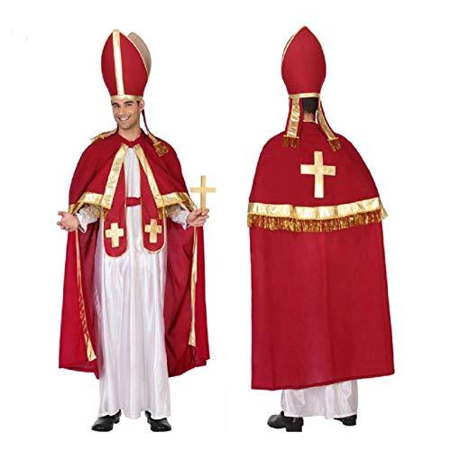 Atosa Déguisement Homme Evêque Pape
