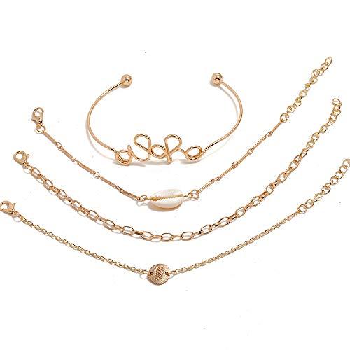 Sieraden Armband Dames Sieraden Sieraden Armband Set Boheemse Wind Shell Ananas Bracelet