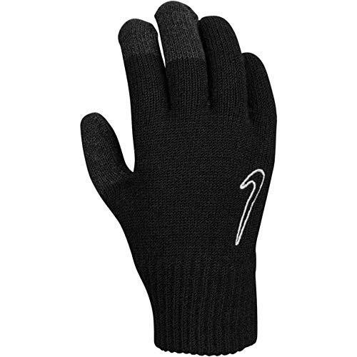 Nike Herren Knitted Tech and Grip 2.0 Handschuhe, schwarz/weiß, L/XL